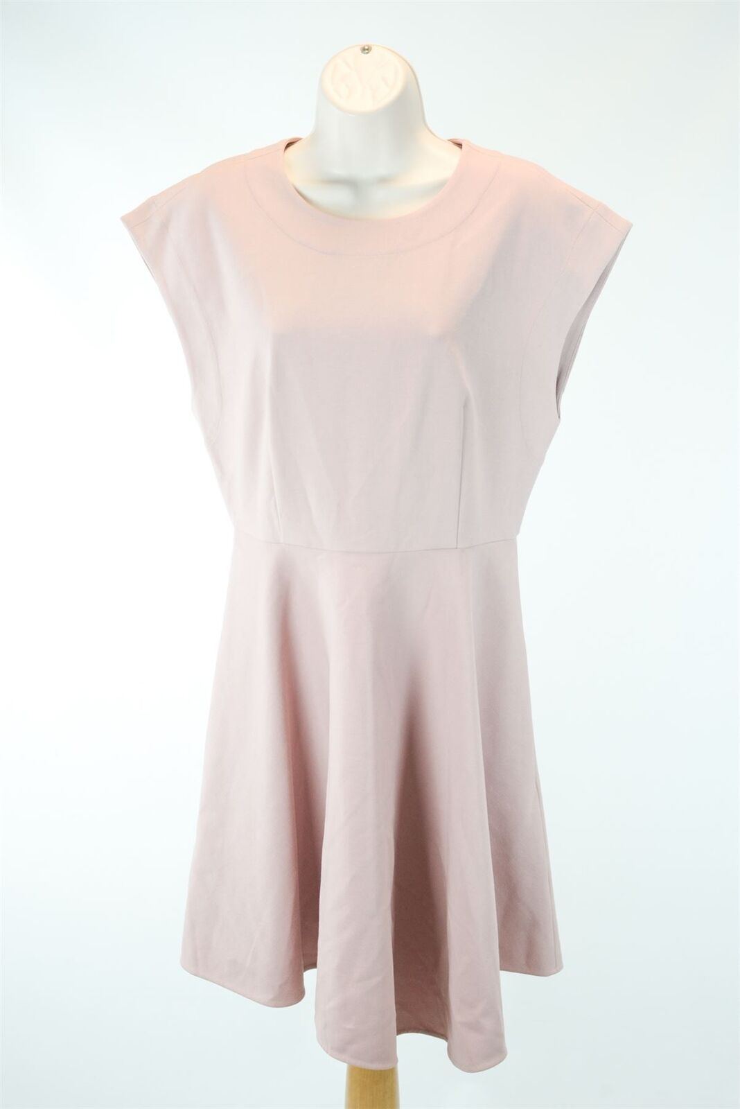 TIBI NEW YORK Pink Short Sleeve Dress, US 4