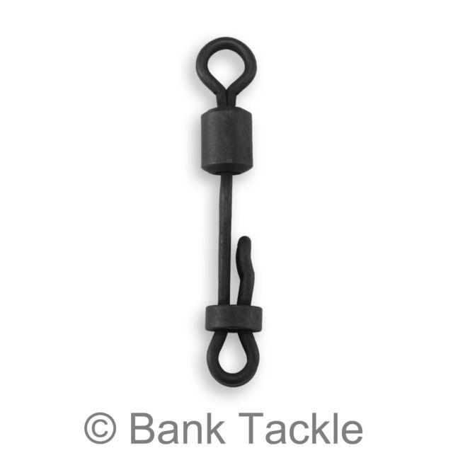 Size 8 HLS Products Carp tackle S4P PVA Bag clip swivels Easy PVA ring