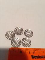 5 Honeycomb Smoking Screens Pipe Bowl Carburetor Last Forever Concave Diffusion