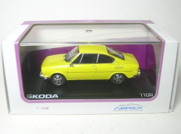 Skoda 110R Coupe (Solar Yellow) 1978