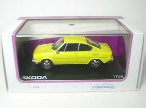 Skoda 110R Coupe (Solar Yellow) 1978