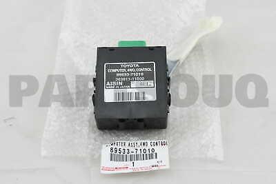 8953371010 Genuine Toyota COMPUTER 4 WHEEL DRIVE CONTROL 89533-71010