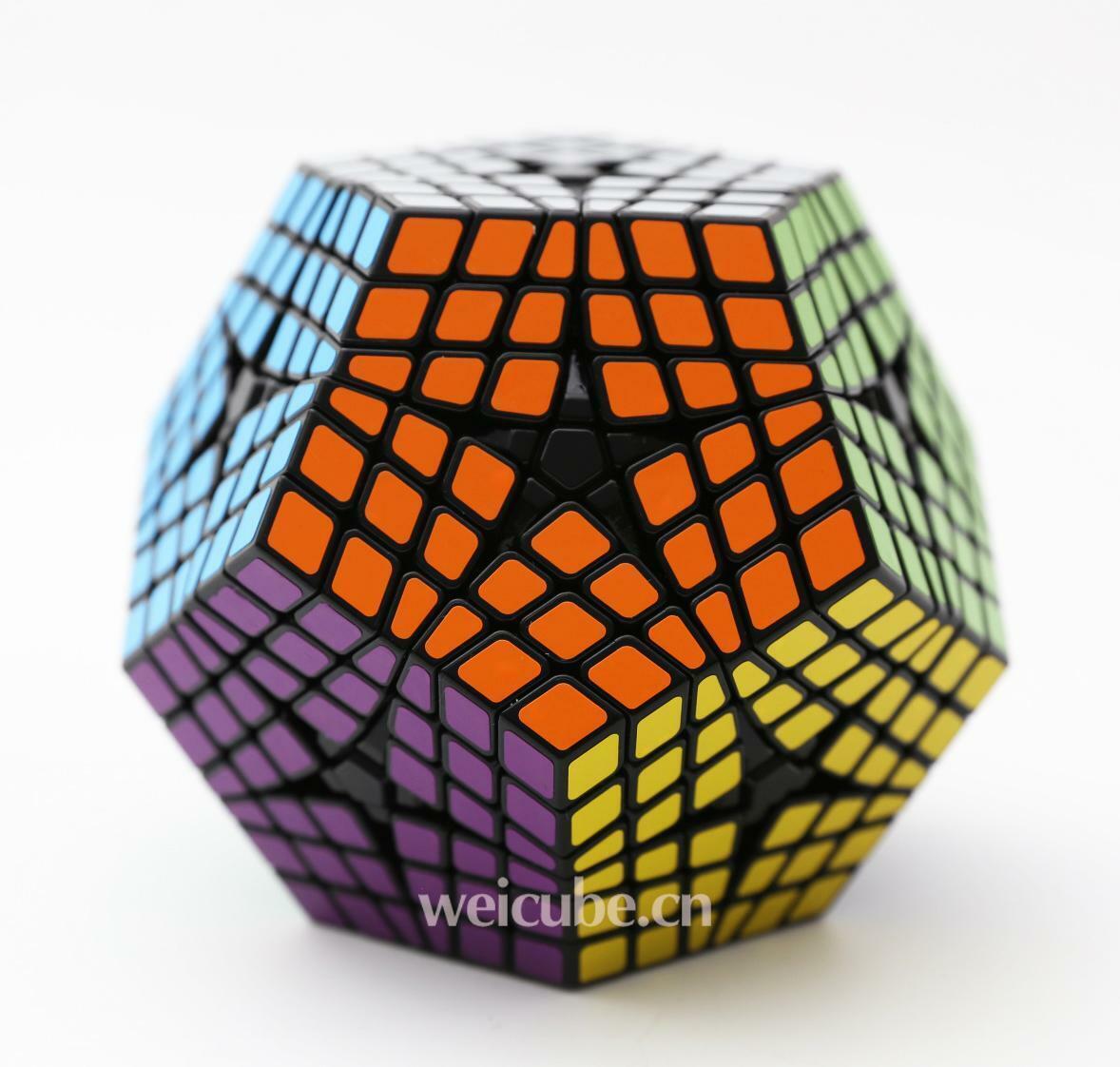 New ShengShou 6x6x6 Megaminx Teraminx Twist Puzzle Magic Cube Intellectual toys