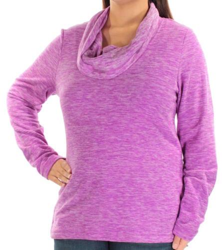 Ideology Women/'s Plus Size Cowl Neck Fleece Pullover Top Select size//color