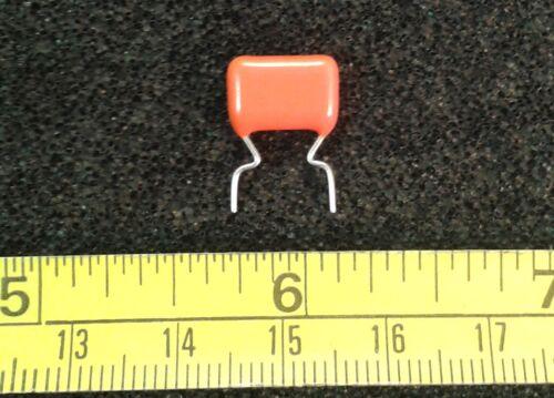 Metallized Polyester 368 Capacitor 10/% Qty 10 400V Orange Drop Plastic Film