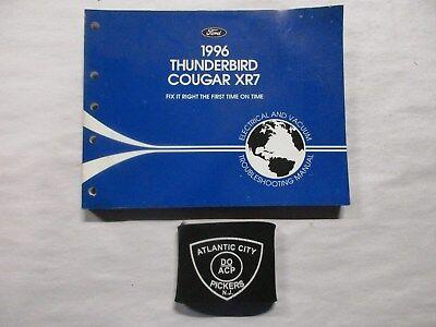 1996 FORD THUNDERBIRD COUGAR XR7 ELECTRICAL WIRING ...