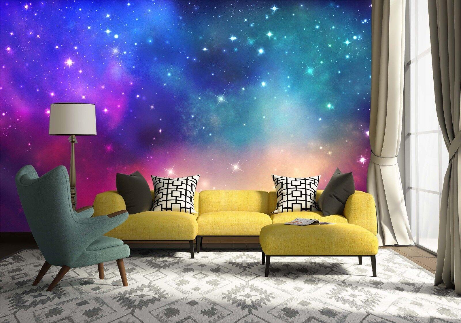 3D Sternenhimmel Natürlich 9793 Tapete Wandgemälde Tapeten Bild Familie DE Jenny | Vorzügliche Verarbeitung  | Günstig  | Angenehmes Aussehen
