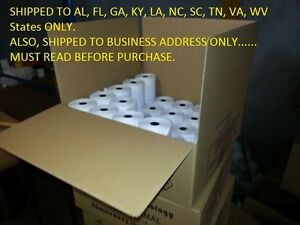 """Thermal Papers Printer 3-1/8"""" x 230'  (2 cases =100 Rolls) POS, Cash Register,"""