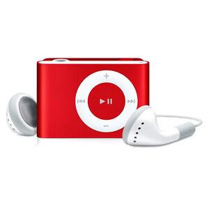 Apple Ipod Shuffle 2nd Generation Red 1gb Ebay