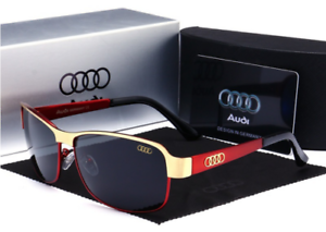 AM554 Fashion 2019 Polarized Men UV400 AUDI Design Glasses WITH BRAND BOX JK88