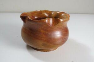 Mayan-Coast-Carved-Teak-Wood-Scalloped-Edge-Bowl