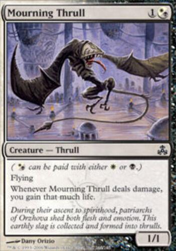 English Guildpact MTG Magic 4x Mourning Thrull NM-Mint