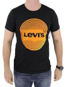 Levi-039-s-Men-039-s-Classic-Cotton-Short-Sleeve-Graphic-T-Shirt-Black