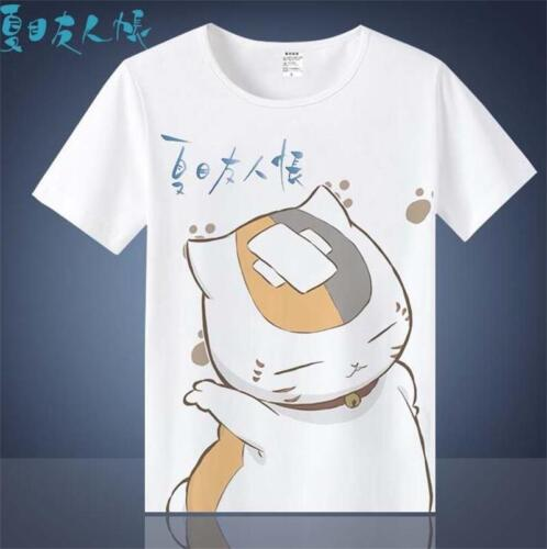 Le Japon Manga Anime Natsume /_ Yuujinchou Nyanko Sensei Débardeur T-Shirt T-shirt graphique Cadeau
