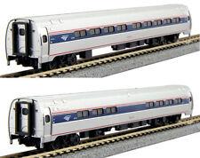 KATO 1068003 N Amtrak Amfleet I Phase VI Coach-Cafe 2 Car Set B 106-8003 NEW