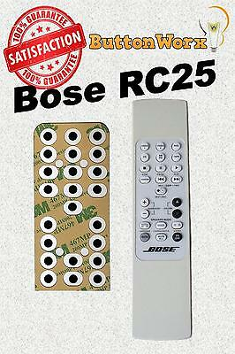 Bose RC-25 **BUTTON REPAIR KIT** Remote For Lifestyle Model 20 25 & 30 RC25  | eBay