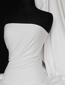 Pure-white-cotton-interlock-jersey-material-t-shirts-Q60-WHT