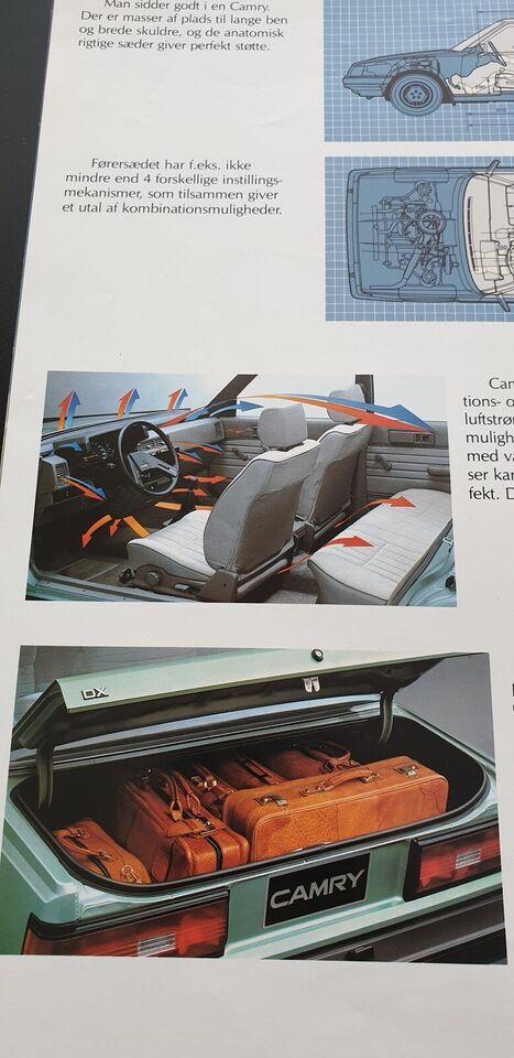 Brochure, Toyota Camry
