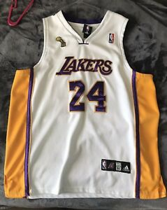 Details about Adidas Kobe Bryant Los Angeles Lakers Authentic Jersey Size 50 Championship