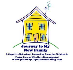Viaggio alla mia nuova famiglia CBT terapia di gioco, affidamento, adottato