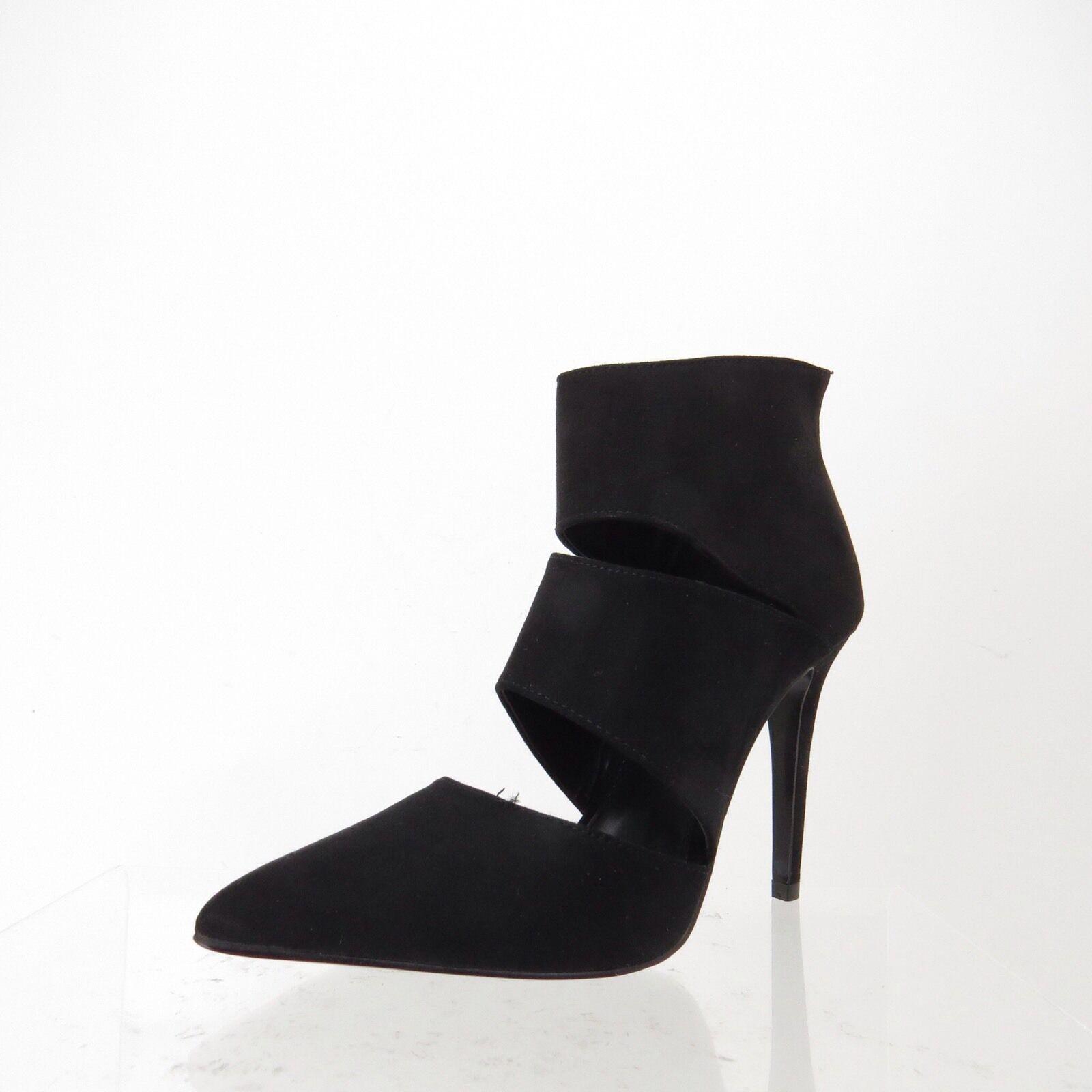 Women's Heels KG By Kurt Geiger Black Suede Platform heels, pump, Size 38 NEW