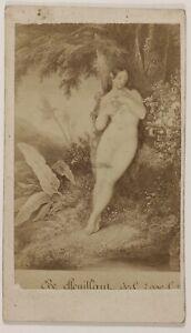 Francia-Foto-Di-Dopo-Incisione-Eve-CDV-PL52L4n14-Vintage-Albumina