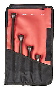 Mayhew Steel Products 32025 4 Pc Pneumatic Air Hammer Set
