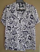 NEW Ralph Lauren Womens Pajamas S//M//L 2Pc Knit Bermuda PJ Set White Navy