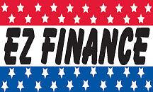 EZ FINANCE FLAG 3x5   FREE SHIPPING