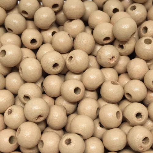 50 Stück Holzperlen MiPerla Ø 8 mm dusty-peach