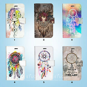 Dream-Catcher-Flip-Wallet-Cover-Samsung-Galaxy-S3-4-5-6-7-8-Edge-Note-Plus-072