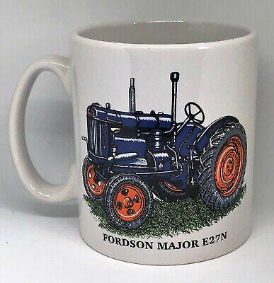 FORDSON FORD MAJOR VINTAGE TRACTOR MUG