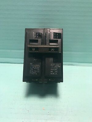 USED CHIP ITE SIEMENS CIRCUIT BREAKER Q230 30 AMP 2 POLE 230 QP