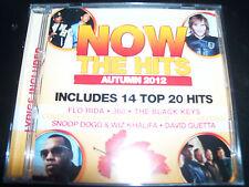 NOW The Hits Autumn 2012 Various CD Ed Sheeran 360 Coldplay The Black Keys & Mor