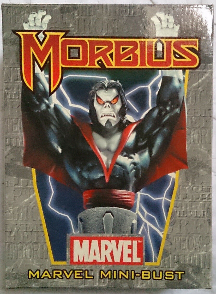 Marvel Comics Bowen Spider-Man Morbius mini bust statue with box