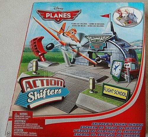 Disney Planes Action Shifters Playset Skippers scuola di volo