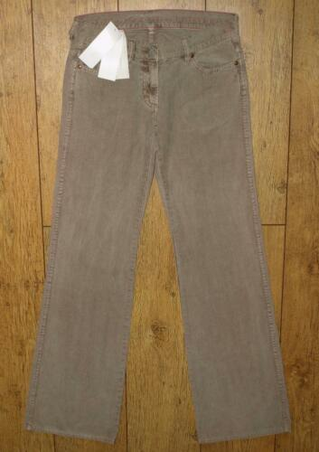 Bnwt Women/'s French Connection Corduroy Trousers New RRP£55 Fcuk Brown
