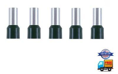 5pcs 8 Gauge Wire Ferrule Amplifier Power Ground 8 AWG Tin Copper Amp Ferrules