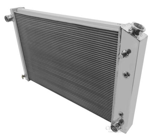 "19 x 28-1//4/"" Core Aluminum WR Radiator Champion Cooling Systems MC716 4 Row"