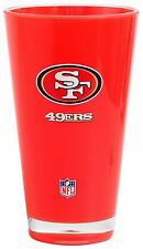 San Francisco 49ers Cup Tumbler Insulated With Double Print 20 Oz Red
