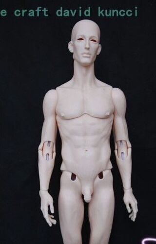 Recast BJD sd doll David dollshe resin 44CM 1/4 model toy boy Free eye dollfie