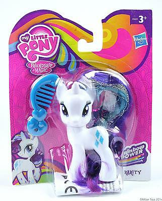 MY LITTLE PONY rainbow power RARITY action figure girls toy MLP G4 - NEW!