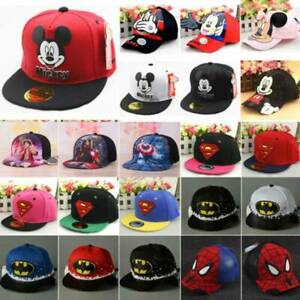 Kid Baseball Cap Girl Boys Children Toddler Outdoor Snapback Hiphop Flat Sun Hat