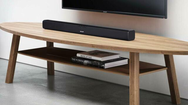 SOUNDBAR SLIM 2.0 SHARP HT-SB110 - 90 WATT HDMI INGRESSO AUX