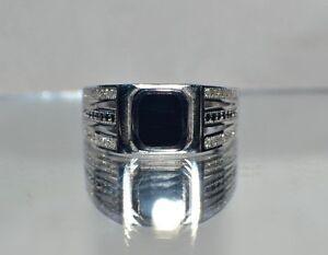 genuine black onyx light weight 4 2 grams size 12 s
