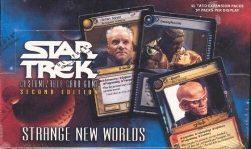 STAR TREK CCG 2E STRANGE NEW WORLDS BOOSTER BOX NEW SEALED