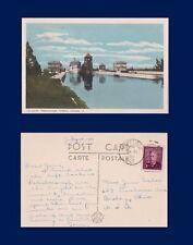 CANADA ONTARIO PETERBOROUGH LIFT LOCKS PECO #5 TO JANE EICHER BEXLEY OHIO 1950