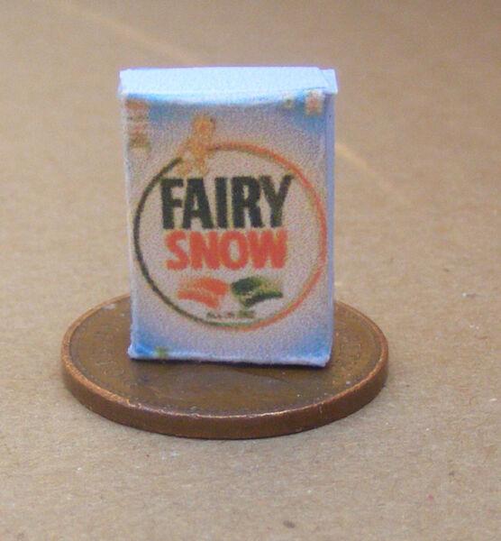 1:12 Scala Fairy Soap Detersivo Pacchetto Casa Delle Bambole Accessorio Da Cucina Ad Alta Qualità