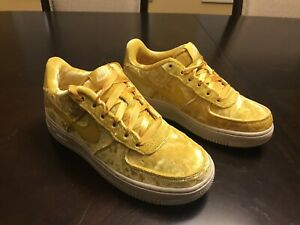 New-Nike-Air-Force-1-LV8-Mineral-Gold-Sneaker-Shoes-Size-US-6-5