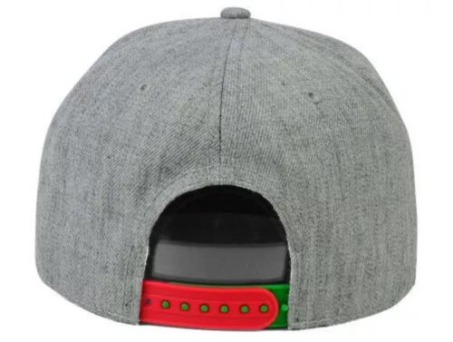 Ugly Christmas Sweater Snapback Hat HO HO HO One Size Fits All GREEN RED GRAY